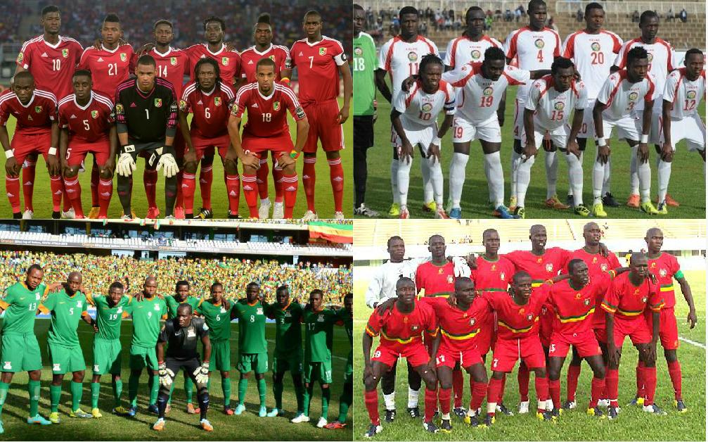 Éliminatoires CAN Gabon 2017 : le Congo dans le groupe E avec la Zambie, le Kenya et la Guinée Bissau