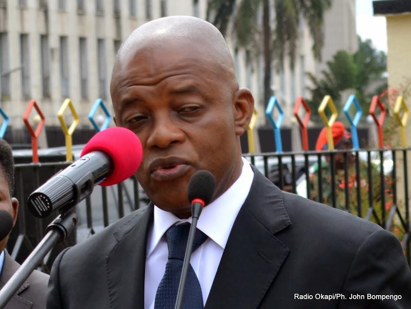 Le Vice premier ministre et ministre de l'Intérieur, Evariste Boshab de la RDC