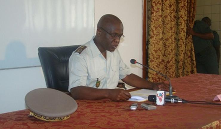 le chef d'Etat-major général des FAC, le général de division Guy Blanchard Okoï|DR