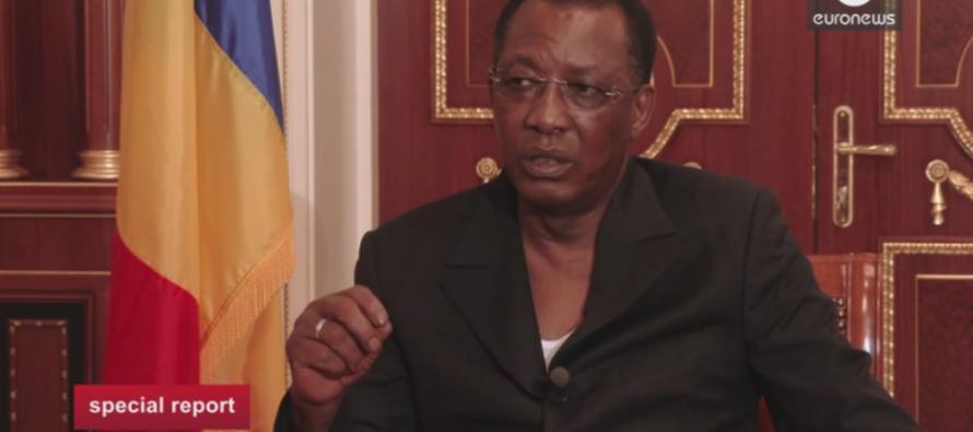 VIDÉO – Idriss Déby Itno:  « Ceux qui fabriquent les armes sont derrière Boko Haram »