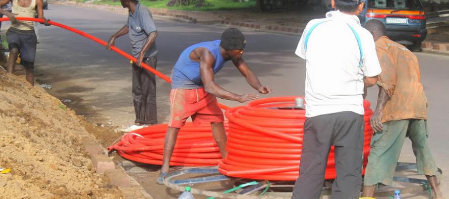 Réseau fibre optique : Brazzaville et Kinshasa bientôt interconnectées