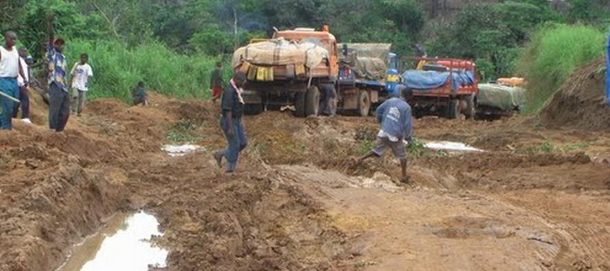 Congo : La pluie cause la désolation à Kindamba