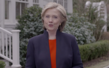 Etats-Unis : Hillary Clinton annonce dans une vidéo sa candidature à la présidentielle de 2016