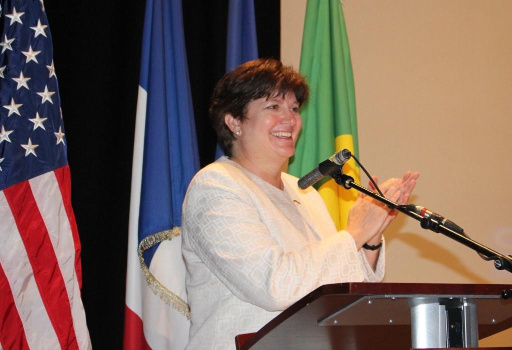 La diplomate américaine, Stephanie Sullivan