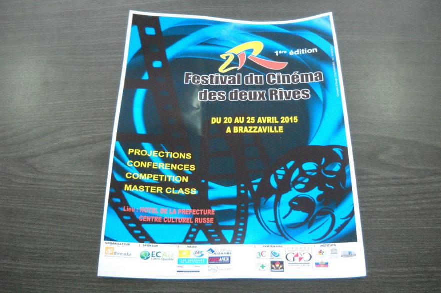 la maquette de la première édition du festival du cinéma des deux Rives