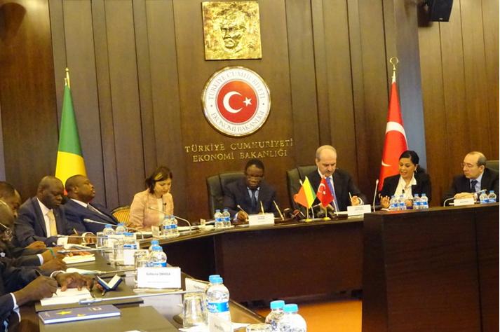 Le Congo et la Turquie satisfaits de leur coopération