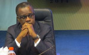 Le ministre Alain Akouala-Atipault.