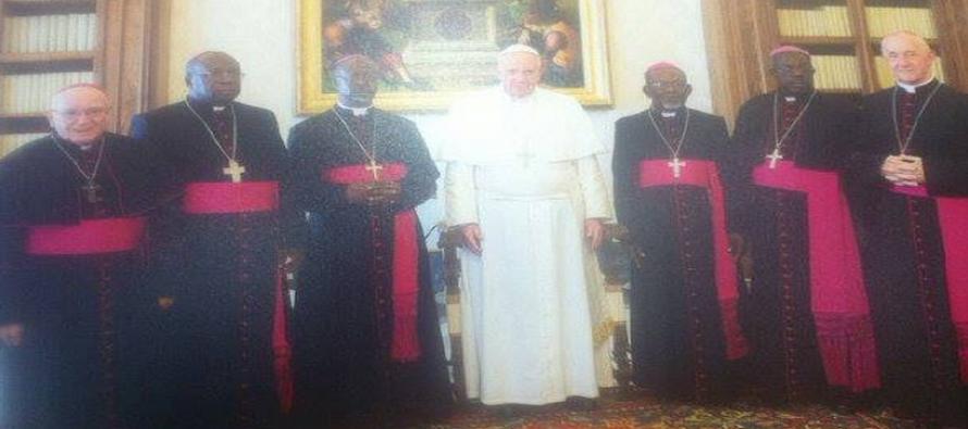 Pape François aux évêques du Gabon: «Défendez les plus faibles contre les violences de toutes sortes»