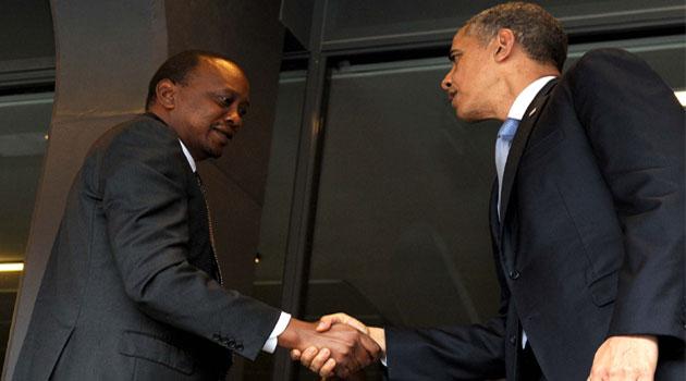 Le président américain Barack Obama a appelé vendredi son homologue kényan Uhuru Kenyatta