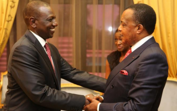 Congo : Willian Ruto rend compte des accords de Nairobi à Denis Sassou N'Guesso