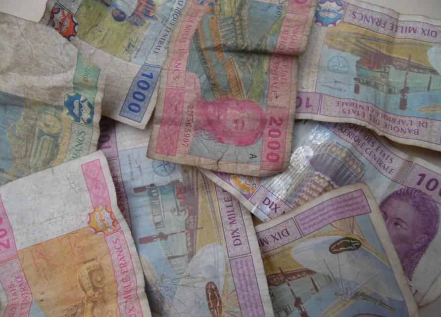 Les billets de banque (franc CFA)