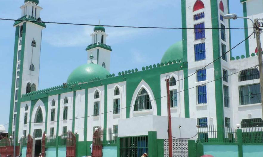 Une mosquée à Brazzaville