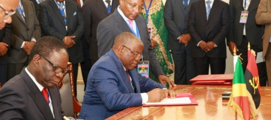 Angola – Congo : Signature de sept accords de coopération
