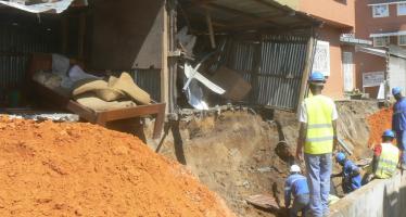 Congo : Après la pluie, des maisons s'effondrent encore à Brazzaville!