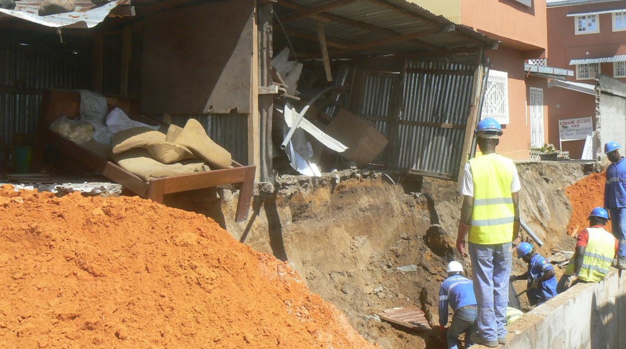 La pluie fait encore des dégâts matériels à Massengo