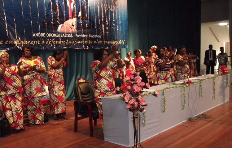 Une vue des membres du comité national de la CADD