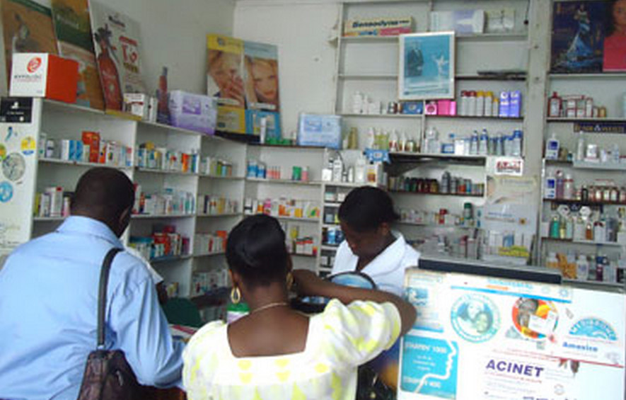 pharmacie au congo brazzaville