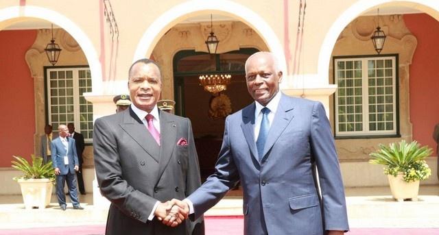 Sassou N'guesso et José Eduardo dos Santos