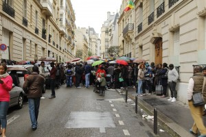 l'ambassade du Congo à Paris