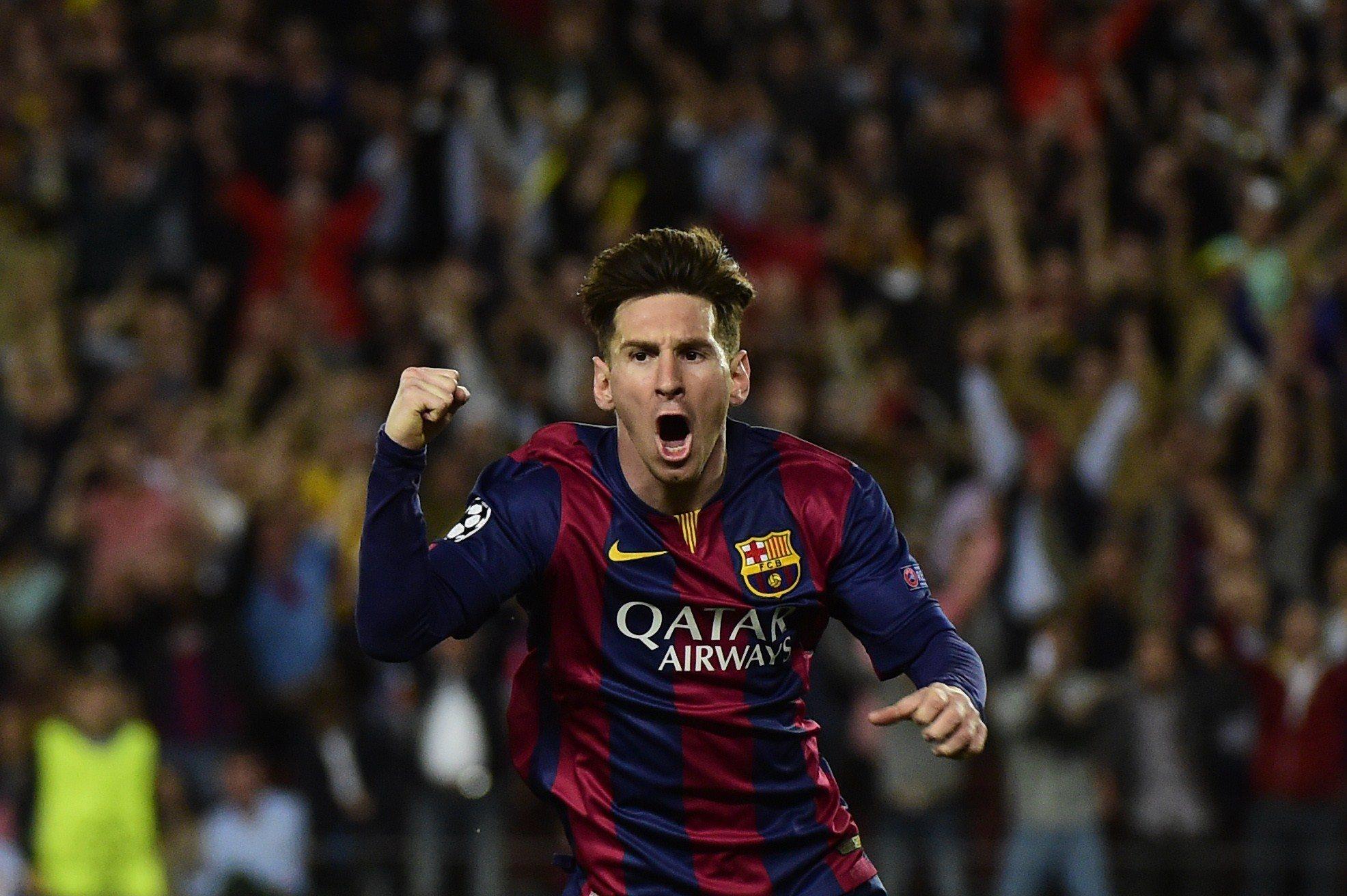Lionel Messi libère Barcelone