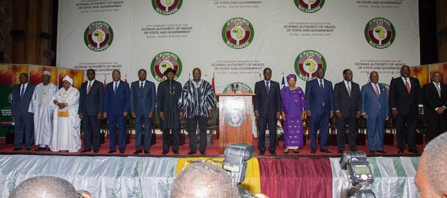 La Cedeao retire sa proposition de limitation des mandats présidentiels