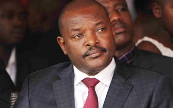 Le président burundais Pierre Nkurunziza rentre à Bujumbura