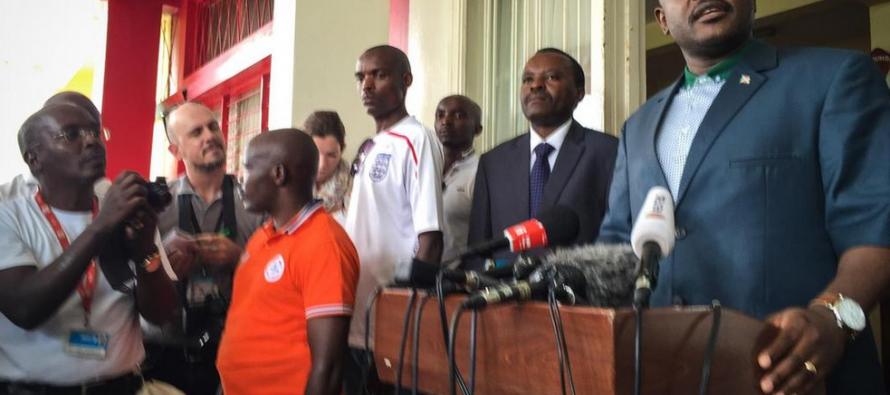 Première apparition du président burundais après la tentative de coup d'Etat