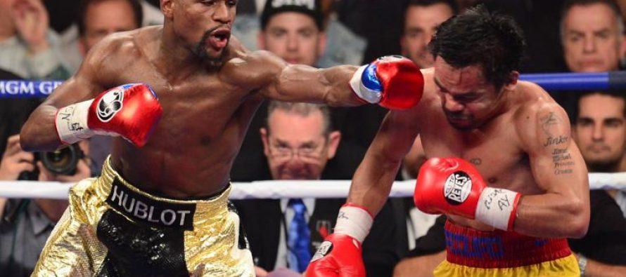 Boxe: Mayweather remporte le combat du siècle et touche le jackpot