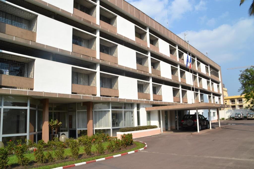 l'Ambassade de France à Brazzaville
