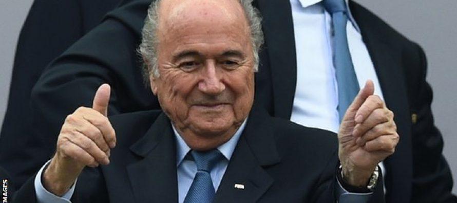Foot – Fifa : Blatter réélu président à 79 ans pour un 5e mandat