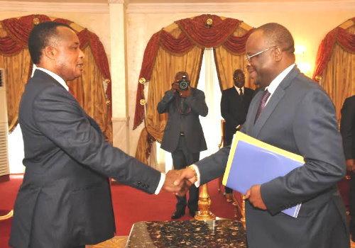 Sassou et Brice Parfait Kolélas
