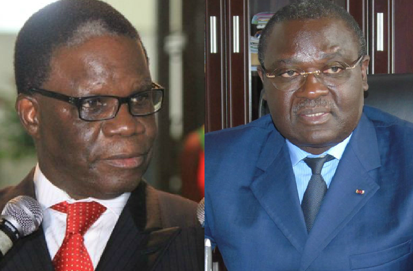 Basile Ikouebe et Charles Richard Mondjo