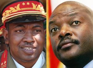 Godefroid Niyombare et Pierre Nkurunziza | © DR