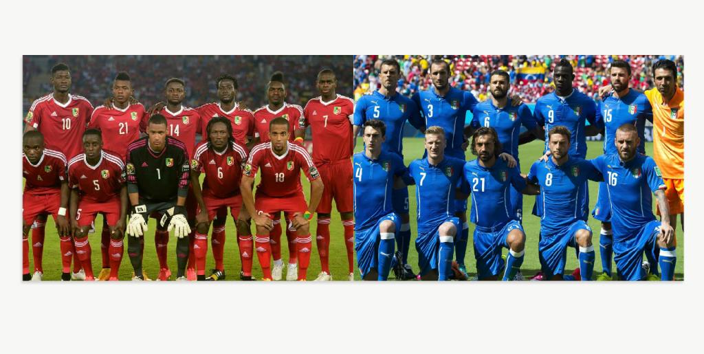 L'affiche est alléchante, car elle annonce la sélection italienne, championne du monde 2006, face aux Diables rouges.