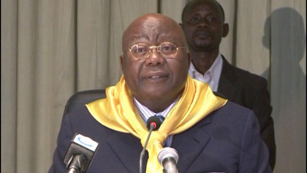 Jean Itadi, ancien ministre, président du Congrès Africain pour le Progrès (Le CAP).