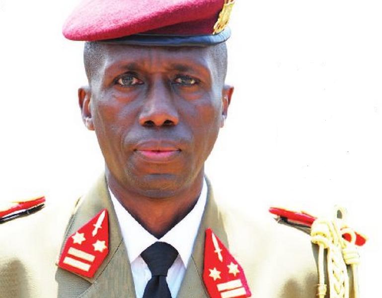 Le Général Major Pontien Gaciyubwenge