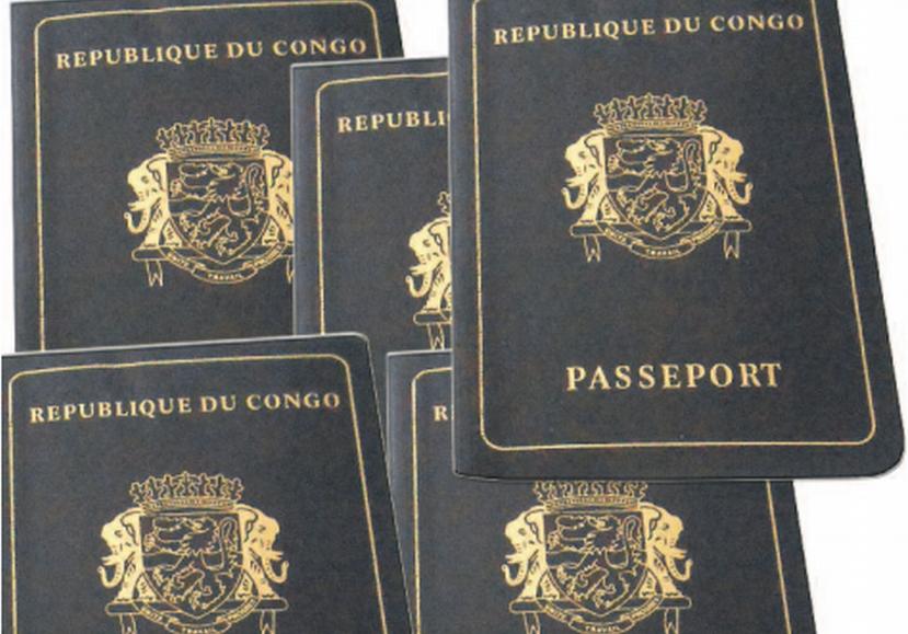 Image d'archive|Le passeport congolais