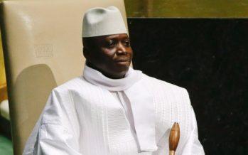 Gambie: Pour Jammeh, les Occidentaux sont des «voleurs» et des «gangsters»