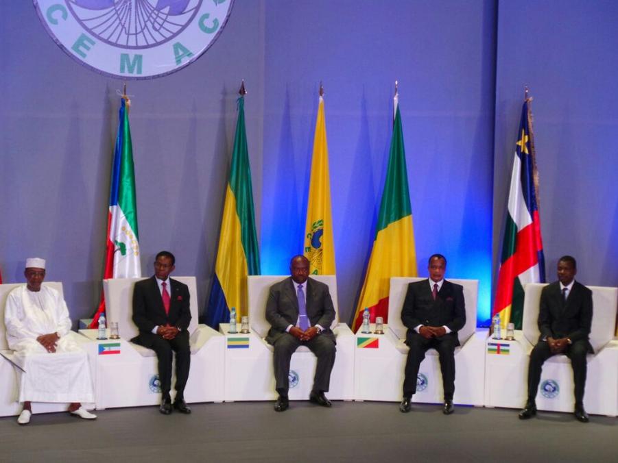 Les Chefs d'État de la CEMAC
