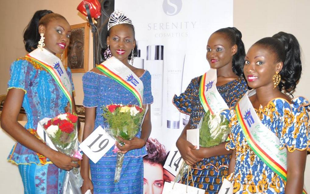 Les quatre représentantes de Brazzaville en juillet prochain