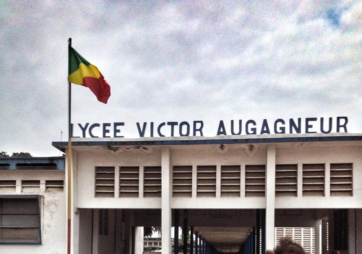 Lycée Victor Augagneur à Pointe noire