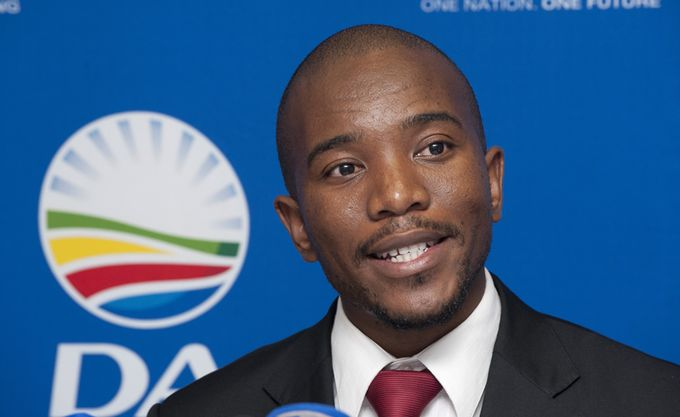 Mmusi Maimane, premier Noir élu à la tête du principal parti de l'opposition sud-africaine