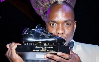 Neeskens Kebano, soulier d'ébène 2015 du meilleur africain de souche en Belgique