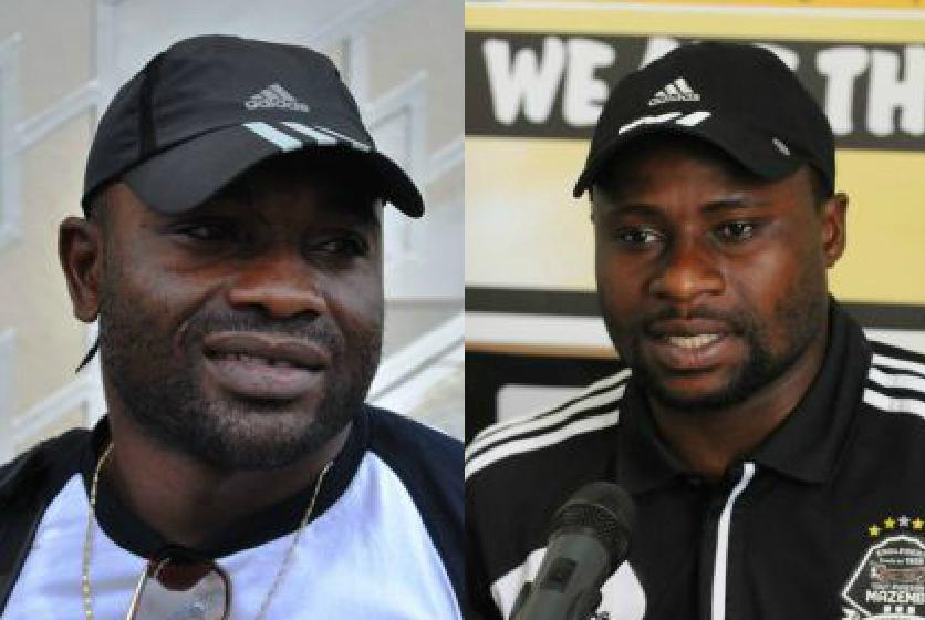 Robert Kidiaba et Pamphile Mihayo