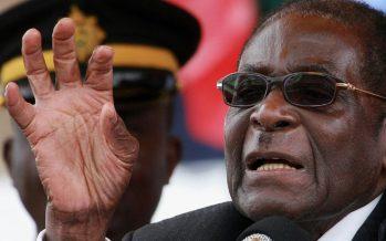 «On ne peut pas continuer à les laisser manifester violemment. Non, trop c'est trop», lance Mugabe aux manifestants