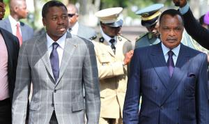 Image d'archive| Faure Gnassingbe et Denis Sassou N'Guesso