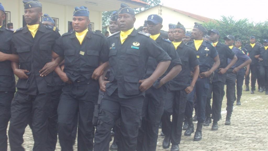 la gendarmerie nationale au Congo