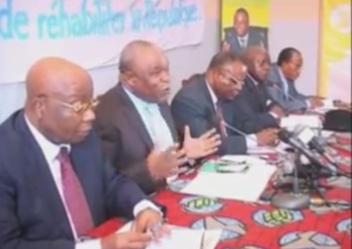Image d'archive|L'opposition congolaise