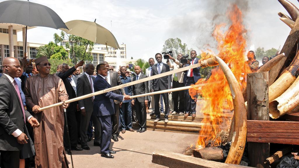 Denis Sassou-Nguesso et son homologue tchadien Idriss Déby Itno