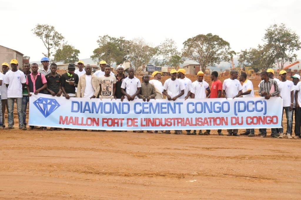 La Cimenterie de Mindouli, dénommée Diamond Cement Congo, sortira de ses machines le 1er sac de ciment d'ici janvier de l'année prochaine|Ph Agapyth Bède / © ICIBrazza